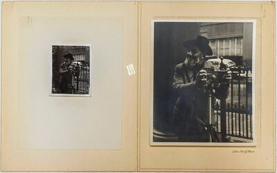 Ansel Adams, 'Rare Vintage Silver Gelatin and Polaroid Photograph Prints Ansel Adams Portrait', Mid-20th Century