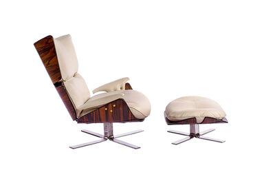 Jorge Zalszupin, 'Paulistana Lounge Chair & Ottoman', 1956-1965