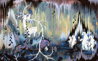 Camille Rose Garcia, 'Arctic Cavern Hideaway', 2006