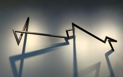 Robert Mangold, 'PTTSAAES 8-08', 2008