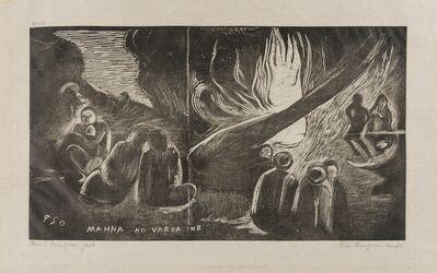 Paul Gauguin, 'Mahna No Varua Ino (Kornfeld 19.IV.E)', 1893-94
