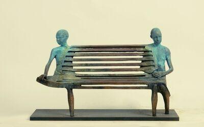 Jesús Curiá, 'Double Bench', 2021