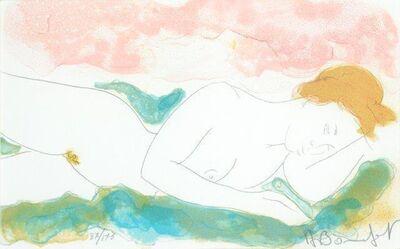 Alain Bonnefoit, 'Deux femmes', 1968