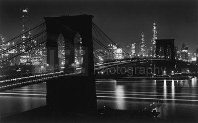 Andreas Feininger, 'Brooklyn Bridge at Night', 1948