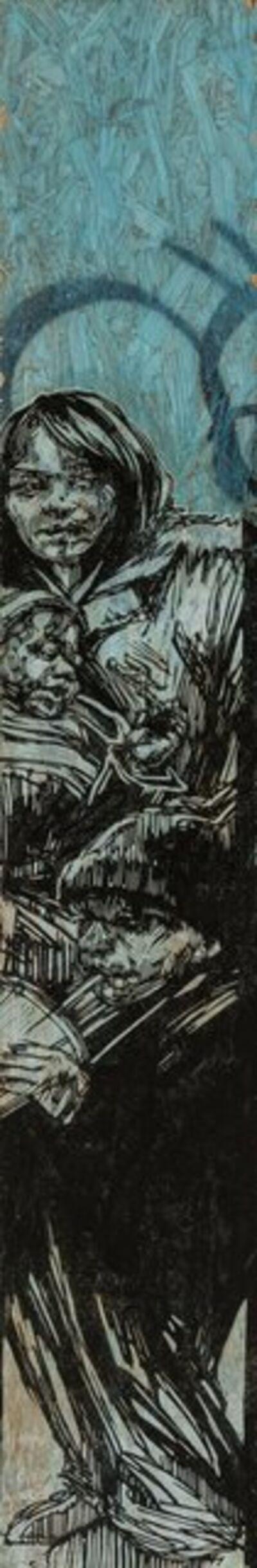 Swoon, 'Myrtle Avenue', 2010