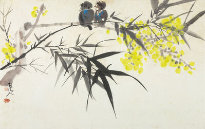 Chao Chung-hsiang 趙春翔, 'The Bamboo and the Magpie', 1965