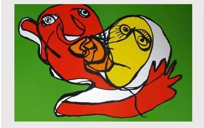 Karel Appel, 'Putting green kiss', 1978