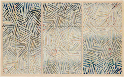 Jasper Johns, 'Usuyuki', 1981