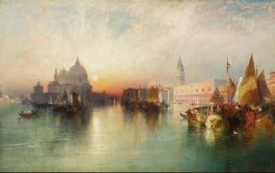 Thomas Moran, 'View of Venice', 1895