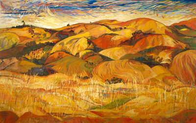Yehouda Chaki, 'Landscape Remembered Golan Diaries 9712', 1997