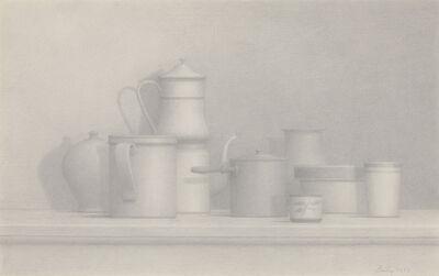 William Bailey, 'Still Life', 1977