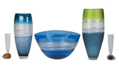 Stuart Hearn, 'five items of contemporary glass', c.2007