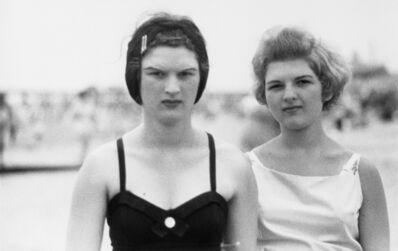 Diane Arbus, 'Two girls on the beach,  Coney Island, N.Y. 1958', 1958