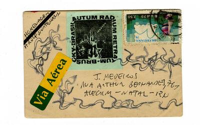 Paulo Bruscky, 'Homenagem a Rolf Nortemann', 1977