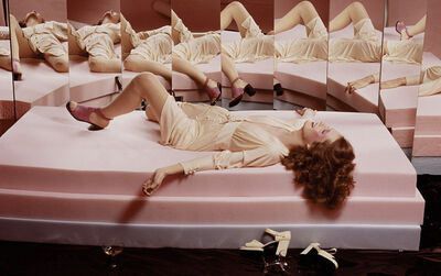 Guy Bourdin, 'French Vogue, March 1972', 1972