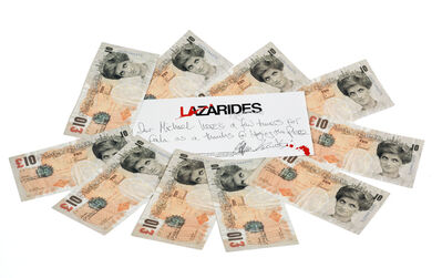 Banksy, 'Di-Faced Tenners, 10 GBP'