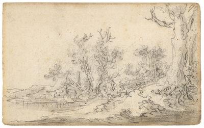 Jan van Goyen, 'Hunting ground near Arnhem', 1650-1651