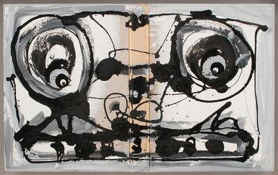 Antonio Saura, 'Autodafé', 1989