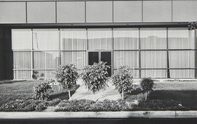 Lewis Baltz, 'New Industrial Parks #37: East Wall, Business Systems Division, Pertec, 1881 Langley, Santa Ana', 1974