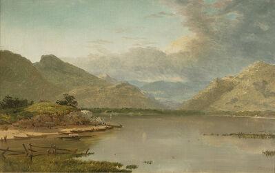 John Frederick Kensett, 'Killarney Lakes', 1858