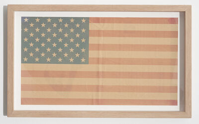 Emilio Chapela, 'Newspaper Flag', 2016