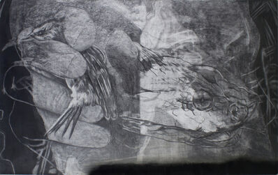 """Frédéric Malette, '""""Que les loups vivent le vent"""" #1', 2019"""