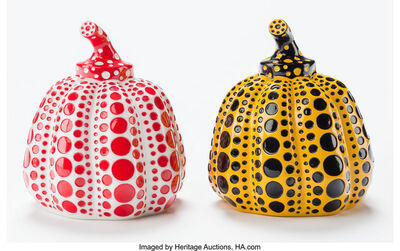 Yayoi Kusama, 'Pumpkin (Red and Yellow) (two works)', 2013