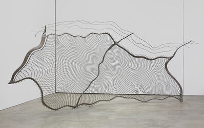 Robert Lazzarini, 'chain-link fence (torn)', 2012