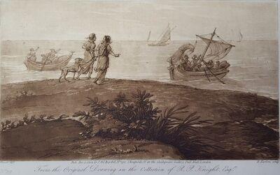 Richard Earlom, 'Landing of the Eneas', 1803
