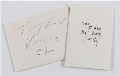 Tracey Emin, 'The Stain', 2007