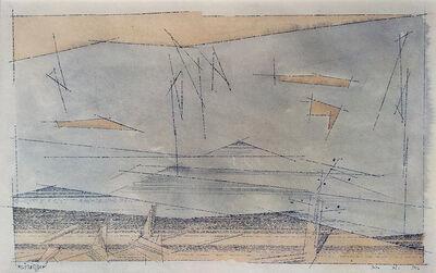 Lyonel Feininger, 'Connecticut Hills', 1950