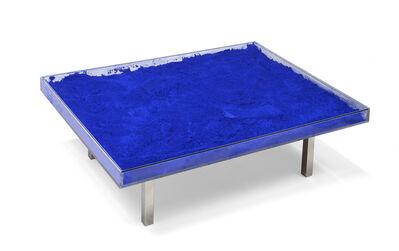Yves Klein, 'Table bleue', 1963