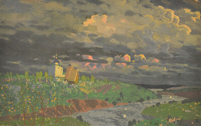 Vasily Leontevich Martynov, 'Storm clouds', 1916