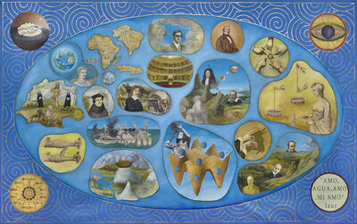 Adriana Bustos, 'Historia del Positivismo Mágico (History of Magical Positivism)', 2015