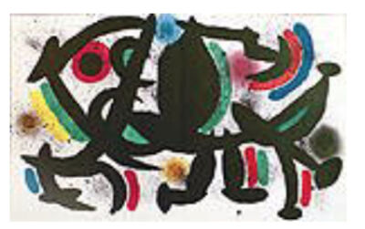 Joan Miró, 'Miro Lithographs Volume I Plate VII', 1972