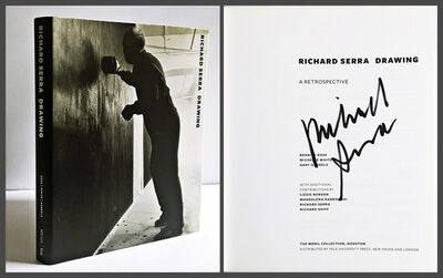 Richard Serra, 'Richard Serra Drawing A Retrospective (Hand Signed by Artist)', 2011