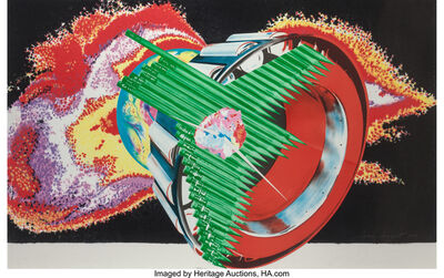 James Rosenquist, 'Space Dust, from Welcome to the Water Planet series', 1989