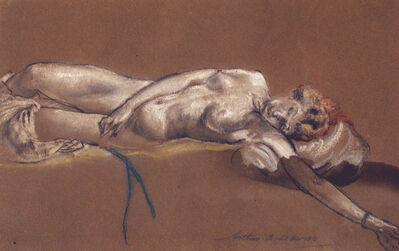 Arthur Bowen Davies, 'Sleeping Woman', 1862-1928