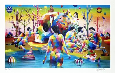 Okuda San Miguel, ''El Lago Del Deseo' (388/500)', 2020