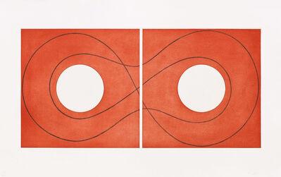 Robert Mangold (b.1937), 'Double Square Frame II', 2015
