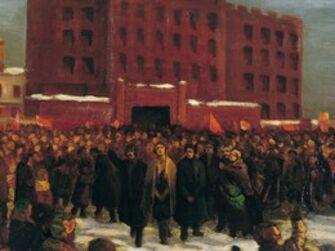 Vasily Leontevich Martynov, 'Bolshevik political prisoners liberation', 1922