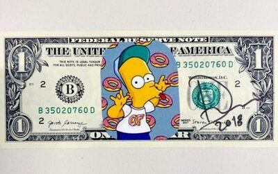 Death NYC, 'Bart Simpson One Dollar', 2018