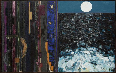 Joan Snyder, 'To Transcend/ The Moon', 1985