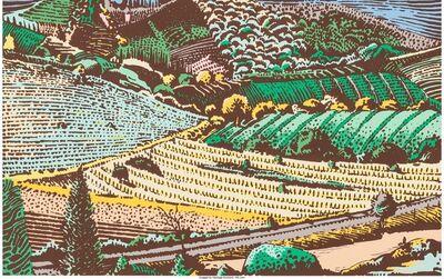 Milton Glaser, 'Tuscan series (three works)'