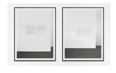 Alejandro Cesarco, 'Word With Ruscha', 2014
