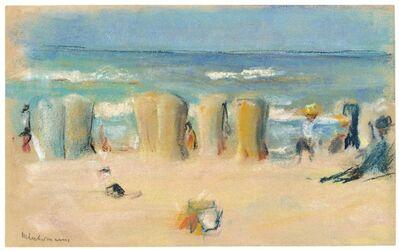 Max Liebermann, 'Badende an der Nordseeküste', ca. ca. 1908/09