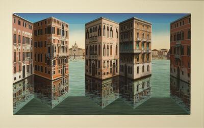 Patrick Hughes, 'Lagoon', 2018