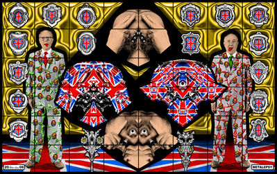 Gilbert and George, 'Metalepsy', 2008