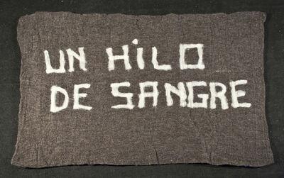 Nury González, 'Un hilo de sangre', 2012