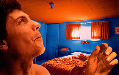 Sandy Skoglund, 'Blue Bulb from True Fiction Two', 2005